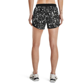 Under Armour Fly By 2.0 Printed Shorts Women, czarny